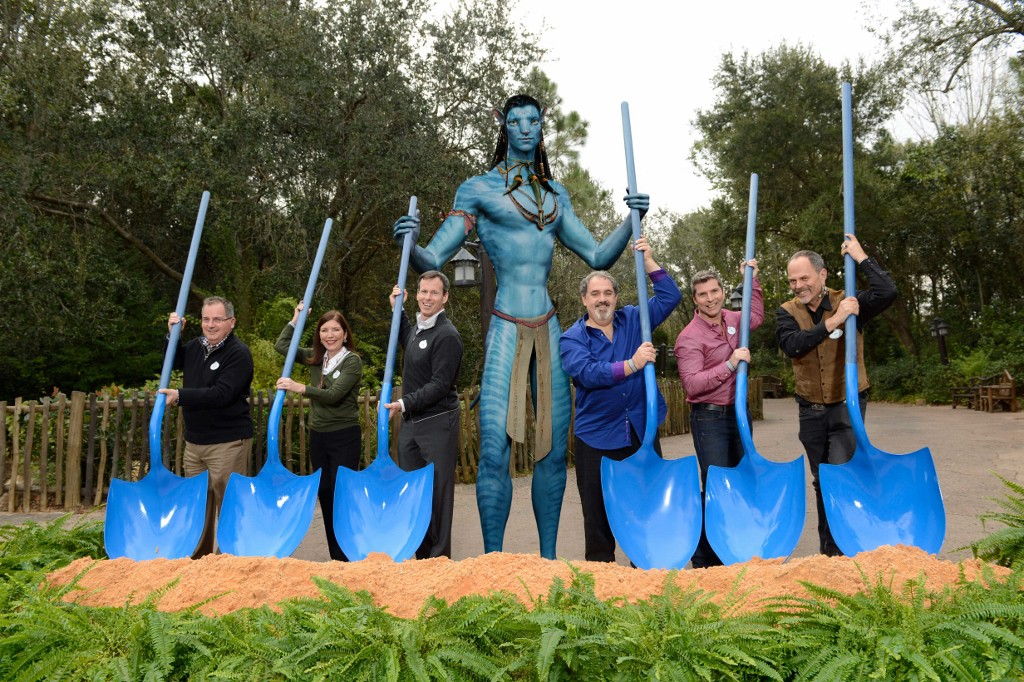 Groundbreaking for AVATAR land at Disney's Animal Kingdom-