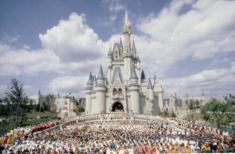 Cinderella Castle 1971