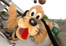Pluto on ride