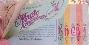 Ticket Books, Walt Disney World