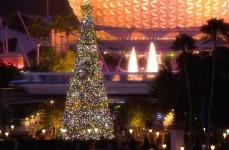 Epcot-Christmas tree