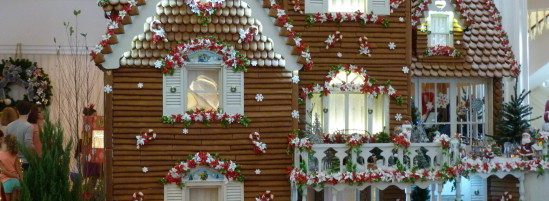 Holiday Decorations at Walt Disney World