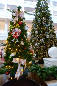 Disney's Grand Floridian Holiday Trees 2015