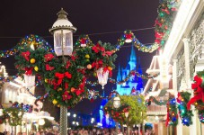 Magic Kingdom Christmas Garlands