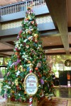 Disney's Polynesian Christmas Tree 2015