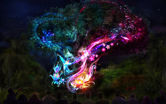 Tree-Life-Night-Show-Disey's Animal Kingdom
