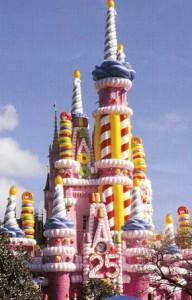 Magic Kingdom Castle-25th Anniversary Cake