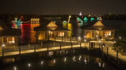 Disney's Electrical Water Pageant at Polynesian Resort Bungalows