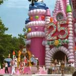 Cinderella's Castle-25th-cake
