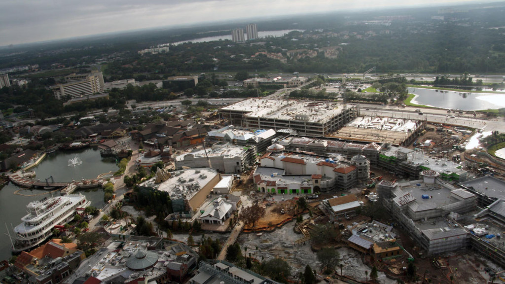 Disney Springs Construction 2015