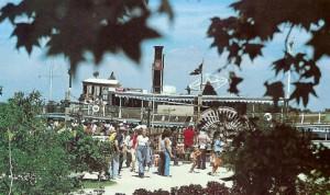 Boat to Treasure/Discovery Island at Walt Disney World 1970's