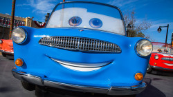 Luigi, Radiator Springs, Cars Land, Disney California Adventure, 2016
