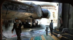Millenium Falcon, Star Wars Land, Walt Disney World Concept Art 2016