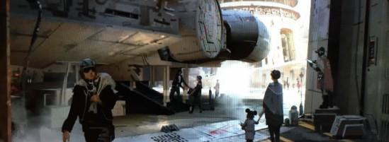 Harrison Ford Talks About Star Wars Land