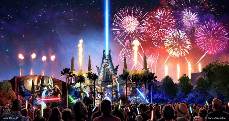 Star Wars Stage Show Disney's Hollywood Studio 2016