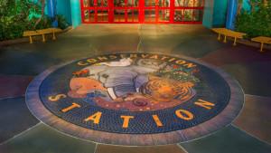 Conservation Station Sign Disney's Animal Kingdom
