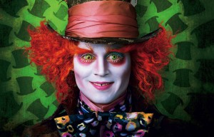 Johnny Depp as Mad Hatter, Alice Through the Looking Glass 2016