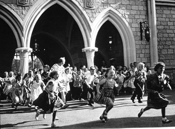 Sleeping Beauty, Disneyland's opening day 1955