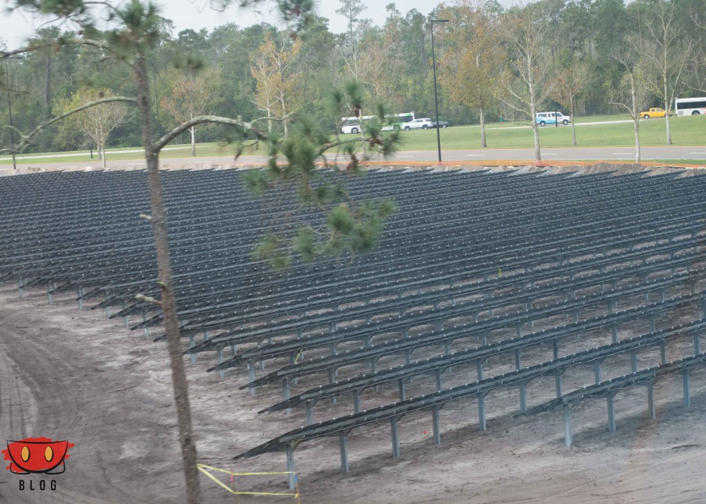 Solar Farm as Hidden Mickey Outside Epcot, <a href=
