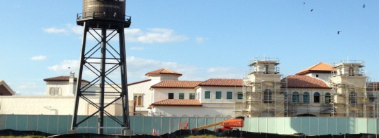 Disney Springs Water Tower is up and Town Center is Nearing Completion