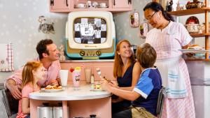 Disney-MGM Studios 1989 50s Prime Time Cafe