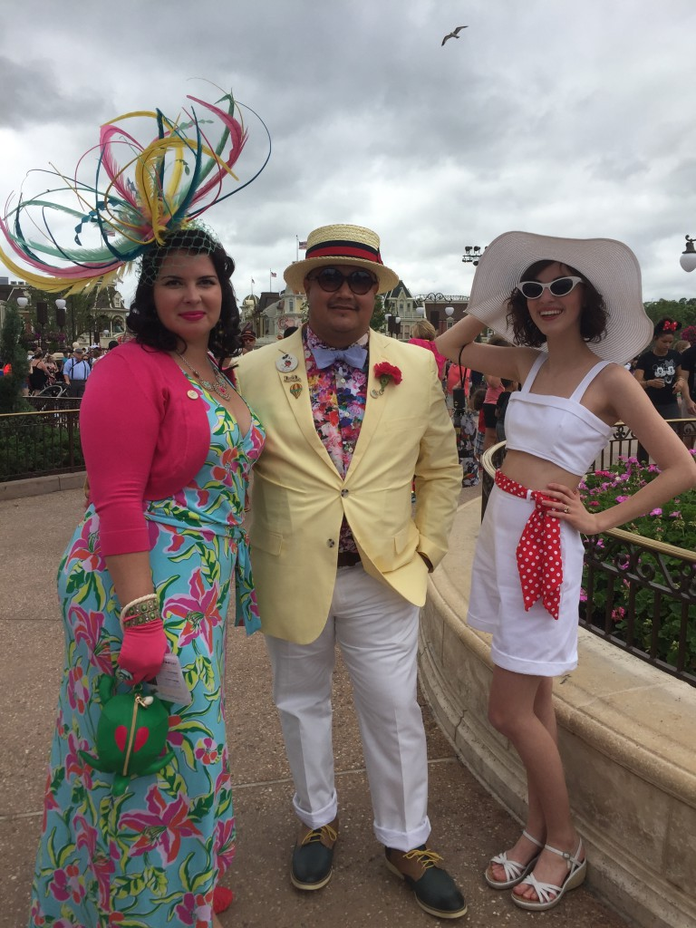 Dapper Day at Magic Kingdom 2016