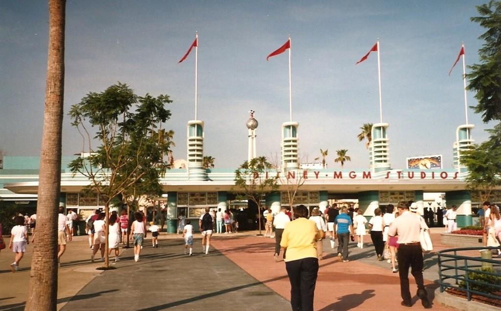 Disney MGM Studios 1989 entrance