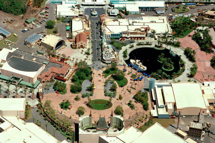 Disney-MGM Studios 1989 aerial view