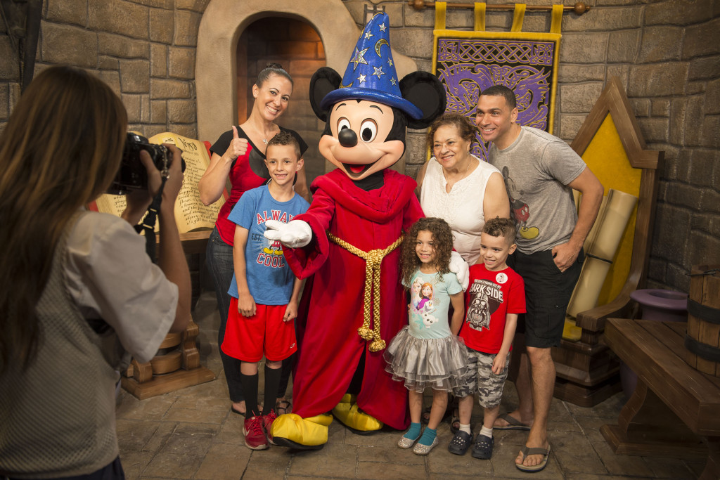 Mickey Mouse greets guests at Disney's Hollywood Studios 2016