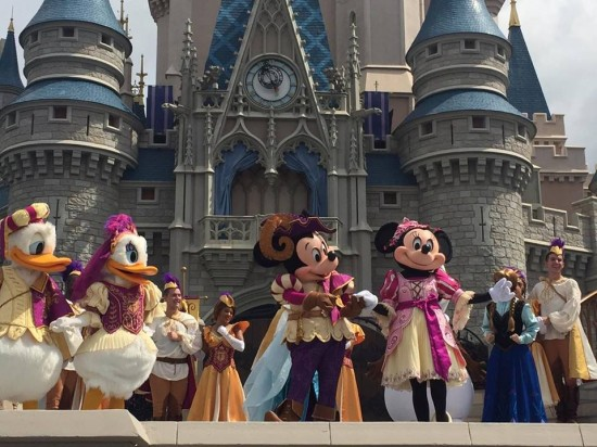 """Mickey's Royal Friendship Faire"" Magic Kingdom, Walt Disney World 2016"