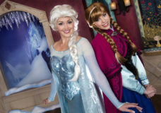 Anna and Elsa from Disney's Frozen movie