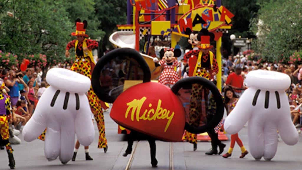 Mickey Mania Parade 1994, Magic Kingdom Walt Disney World