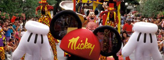 A Look Back at the 1994 Magic Kingdom Mickey Mania Parade