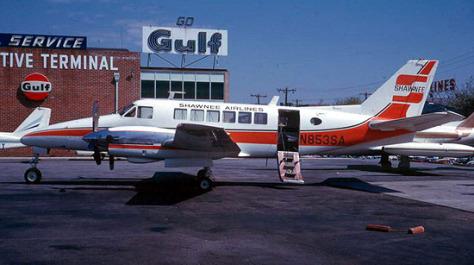 Walt Disney World STOLport, Shawnee Airplane Photo courtesy of Sunshine Skies