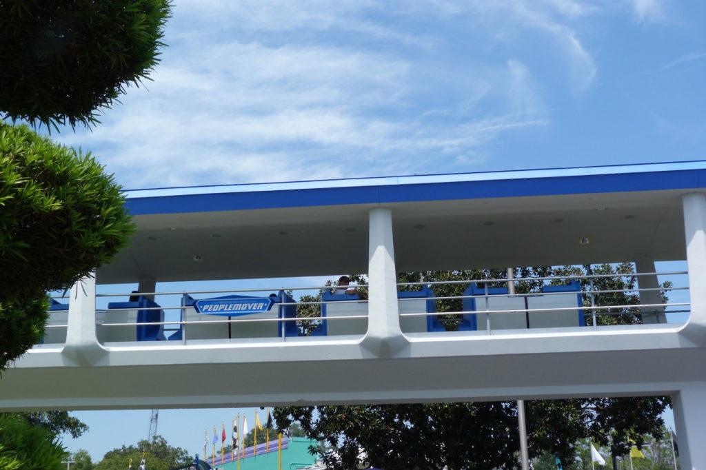 Tomorrowland Peoplemover, Magic Kingdom, 2011 Walt Disney World