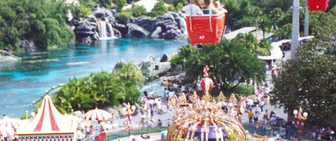 Vintage Disney – A 1990's Look at Magic Kingdom's Skyway