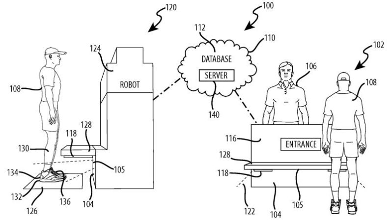 Disney Enterprise Awarded Patent to Track Guests by Their Footwear 2016