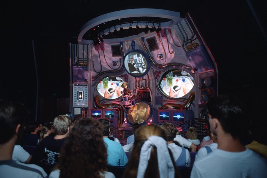 Cranium Command theater, Wonders of Life in Epcot, Walt Disney World 1990's