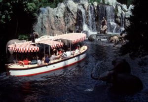 Jungle Cruise boat 1960's Disneyland