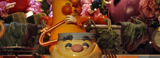 Epcot's Kitchen Kabaret Veggie, Veggie, Fruit Song of 1980's