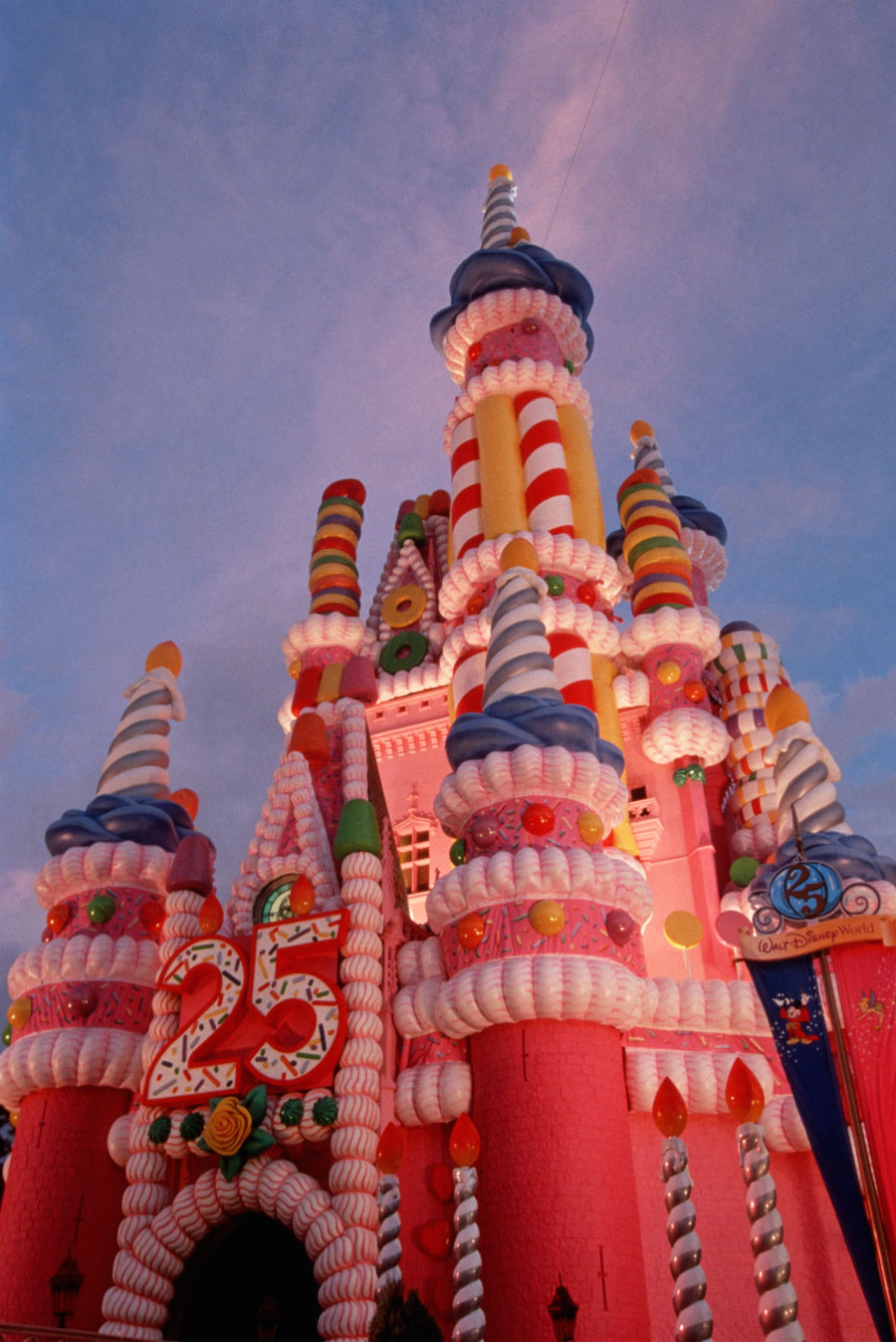 Birthday Cake Castle Magic Kingdom 25th Anniversary Walt Disney World 1996