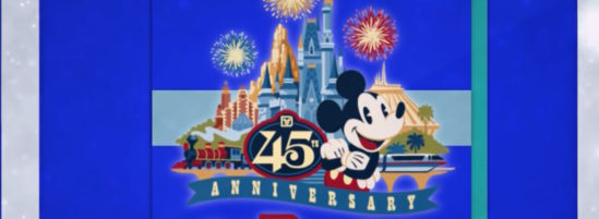 Walt Disney World Celebrates 45th Anniversary