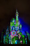 """Once Upon A Time"" Castle Projection Show Magic Kingdom 2016"