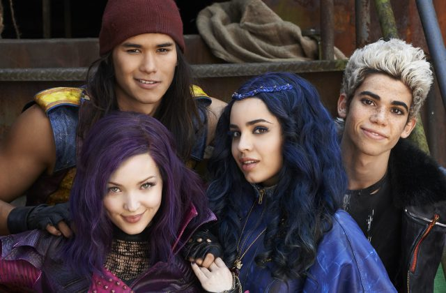 Descendants Cast perform at Disney Parks holiday special 2016