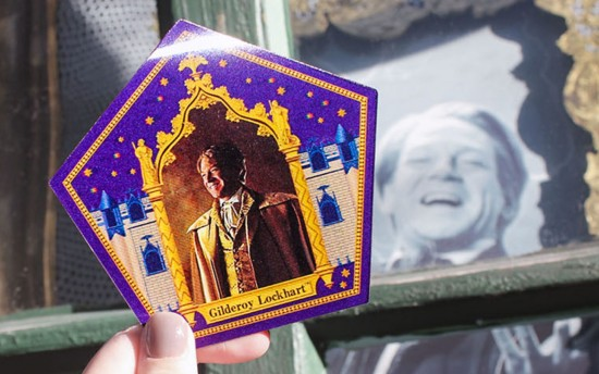 A Celebration of Harry Potter 2017 souvenirs chocolate frog card