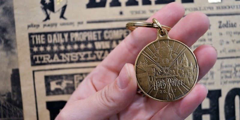 A Celebration of Harry Potter 2017 souveniers keychain